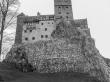 El Castillo de Bran dándole ambientación Drácula (aunque apenas tuvo nada que ver)