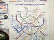 Plano del metro de Moscú