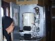 La máquina de hervir agua