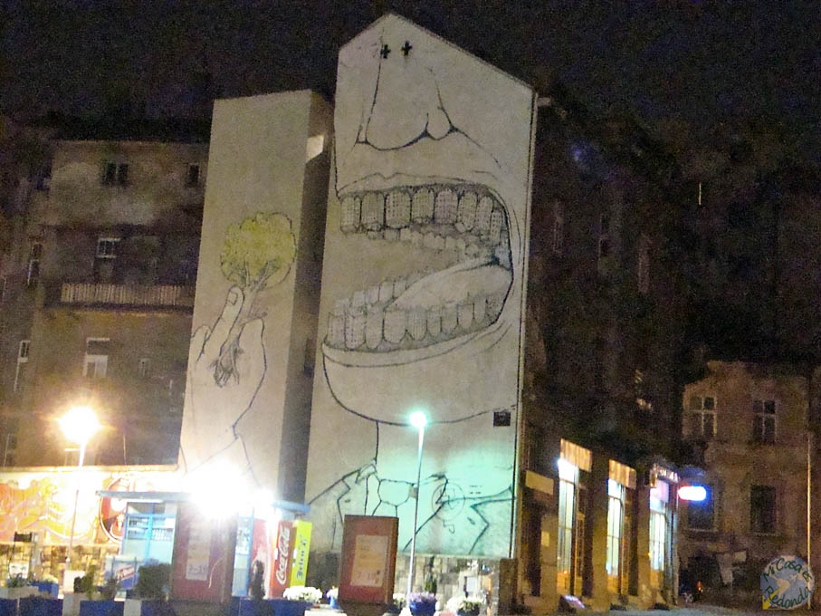 Grafittis en Belgrado