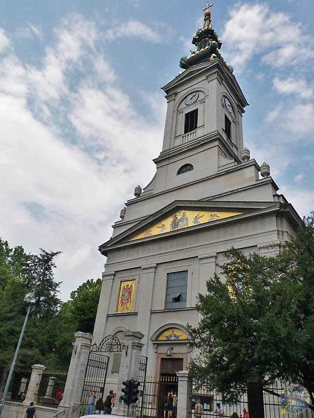 Catedral ortodoxa de San Miguel, Belgrado