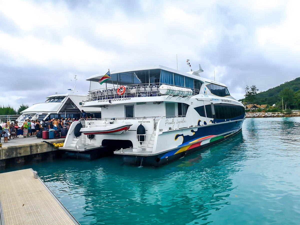 Ferrys entre islas, Seychelles