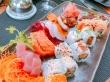 Sabroso plato de sushi, Seychelles