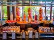 Variedad de comida en los resorts de Seychelles