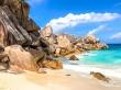 Espectacular agua entre rocas, Seychelles