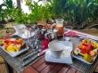 Desayuno tropical en Silhouette, Seychelles