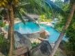 Piscina y lujo en Constance Lemuria, Praslin, Seychelles