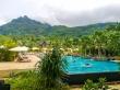 Piscinas entre la frondosa vegetación de Mahe, Seychelles
