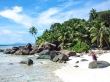 Silhouette, paraiso tropical