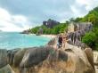 Aprovechando nuestro momento dron, Anse Source D'Argent, Seychelles