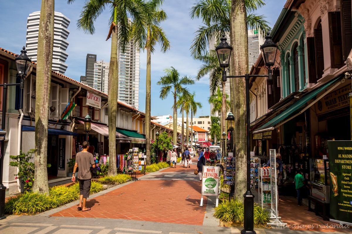 Las calles del barrio árabe, Singapur