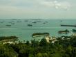 Playas de Sentosa acechadas por los barcos