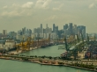 Skyline de Singapur desde Sentosa