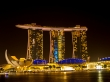 Cómo brilla! Marina Bay Sands, Singapur