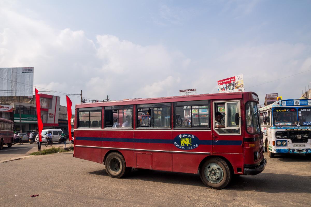 Bus en Sri Lanka
