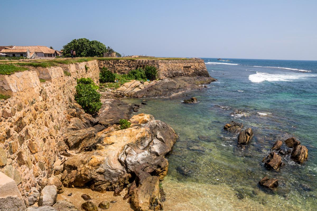 El fuerte junto al mar, Galle