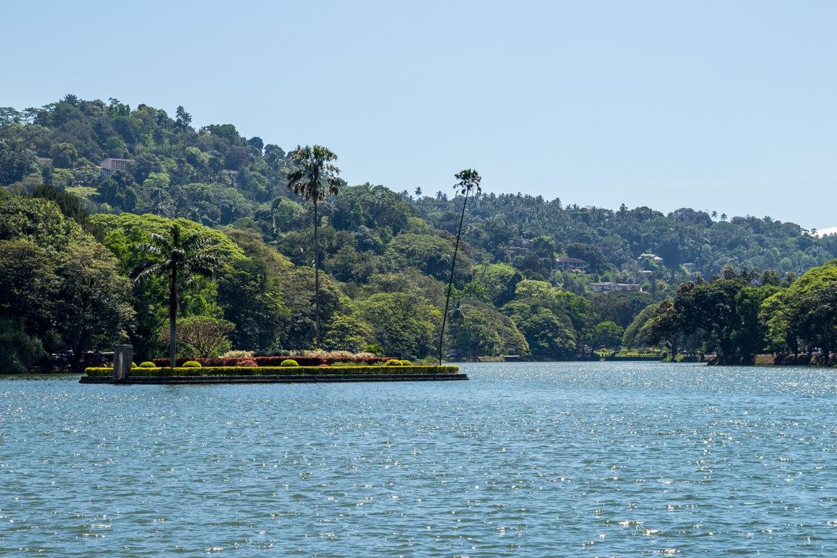 El lago de Kandy