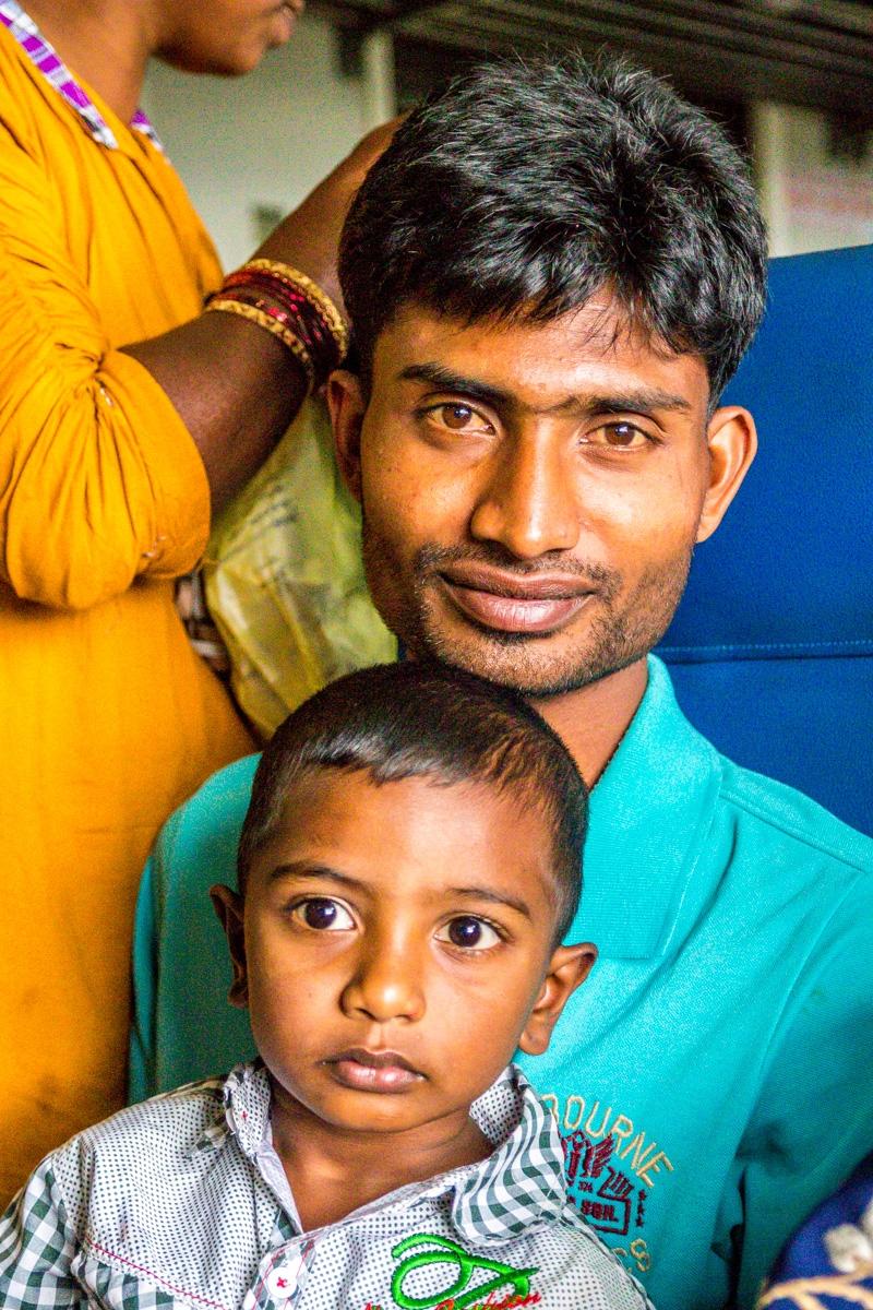 Familias en el camino