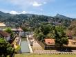 El templo del diente de Buda desde lejos, Kandy