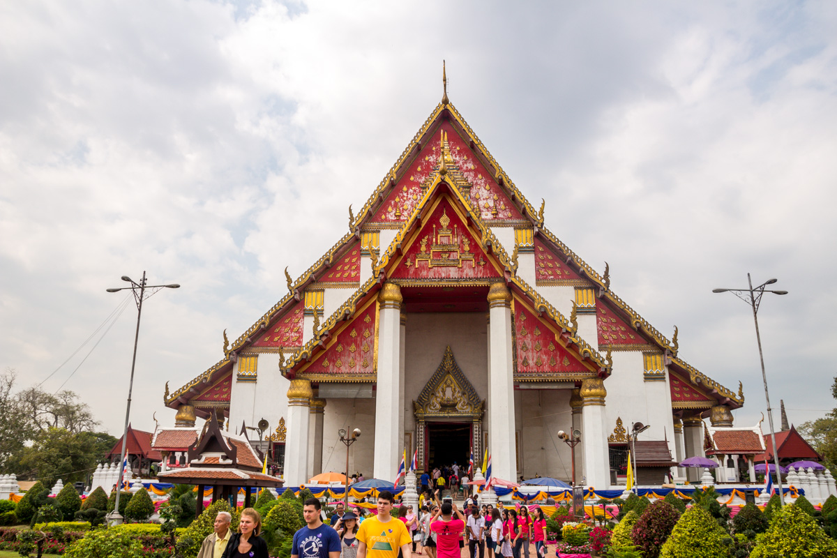 Viharn Phra Mongkol Bophit, Ayutthaya