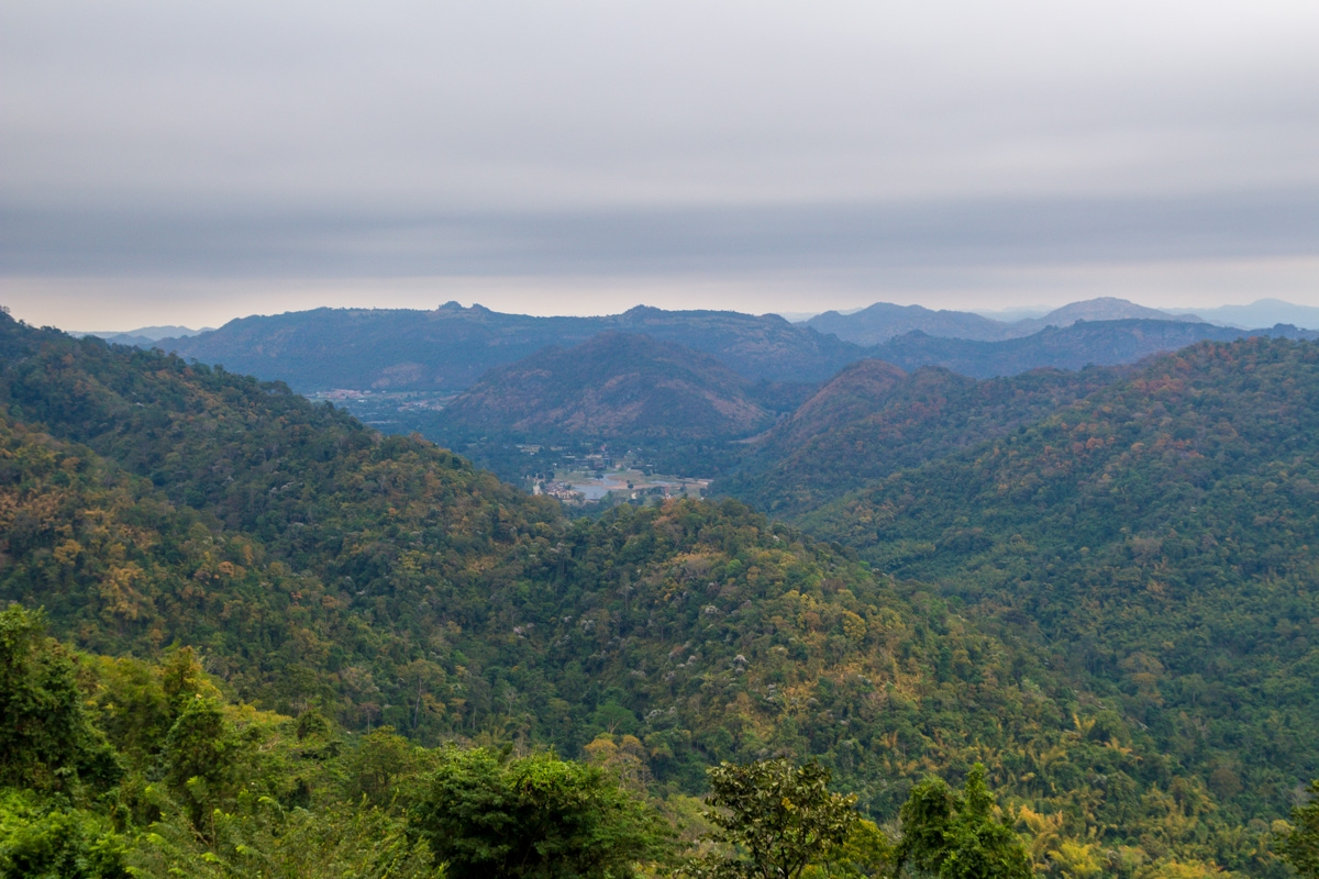 Vistas del Khao Yai National Park desde un mirador