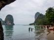 Desde la cueva de Phra Nang