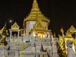 El Templo del Buda de Oro con la luna de fondo, Bangkok