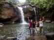 En la cascada de La Playa, Khao Yai