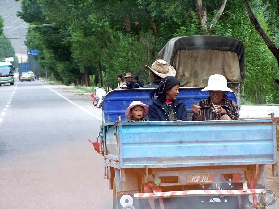Viajando por el Tibet