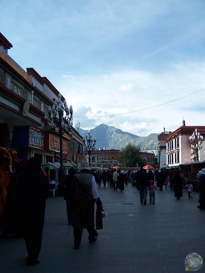 Las calles de Lhasa