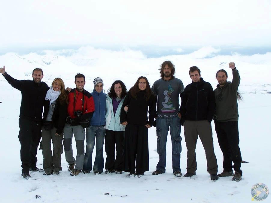 En el paso de Gyatchula, a 5220 metros