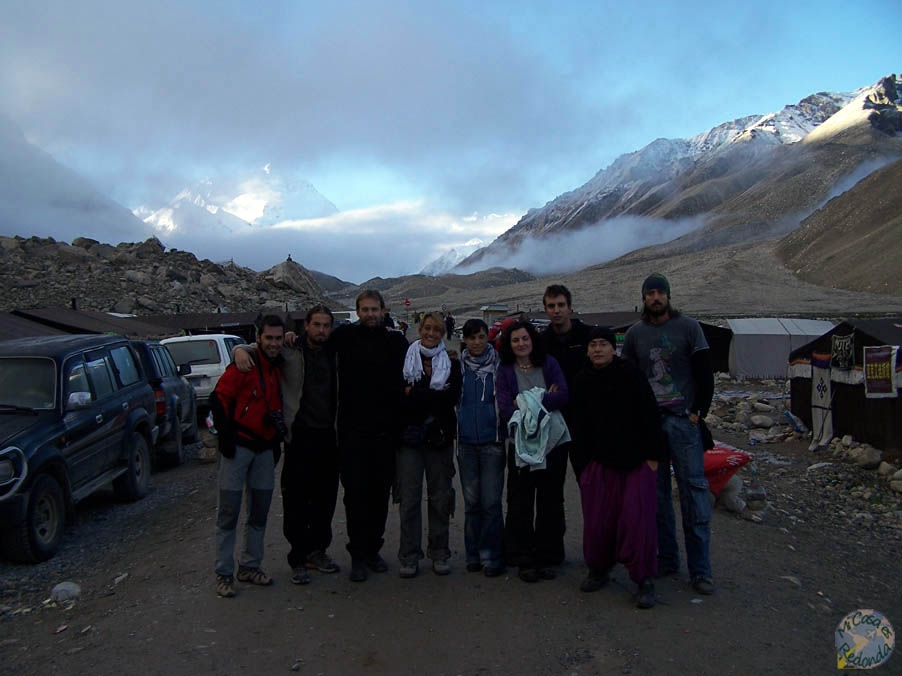 En el Campo Base del Everest