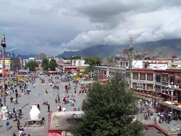 Plaza Barkhor, Lhasa