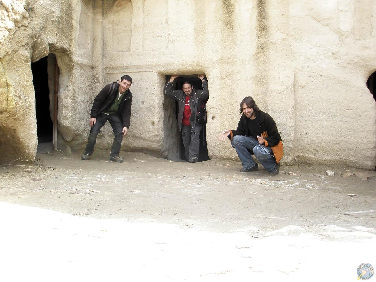 Haciendo el idiota en Capadocia