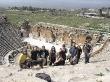 En las ruinas de Hierapolis, Pammukale