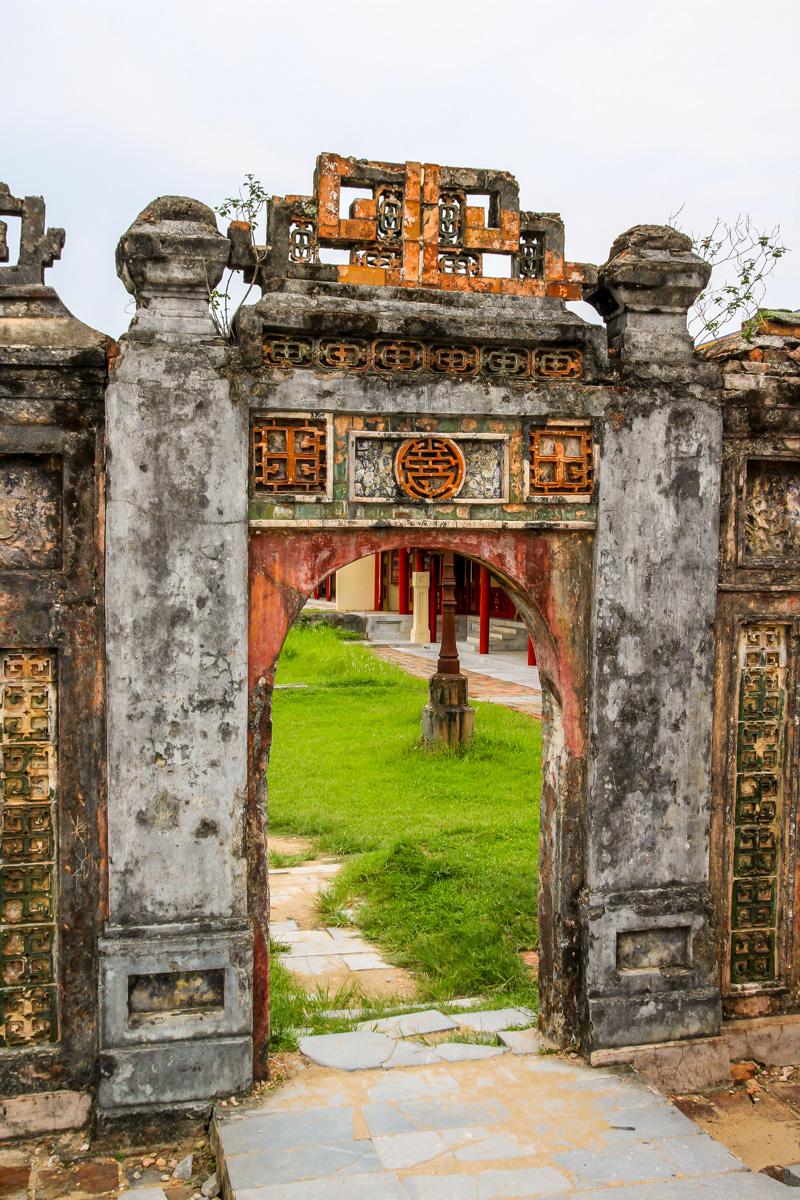 Puertas de la ciudadela, Hue
