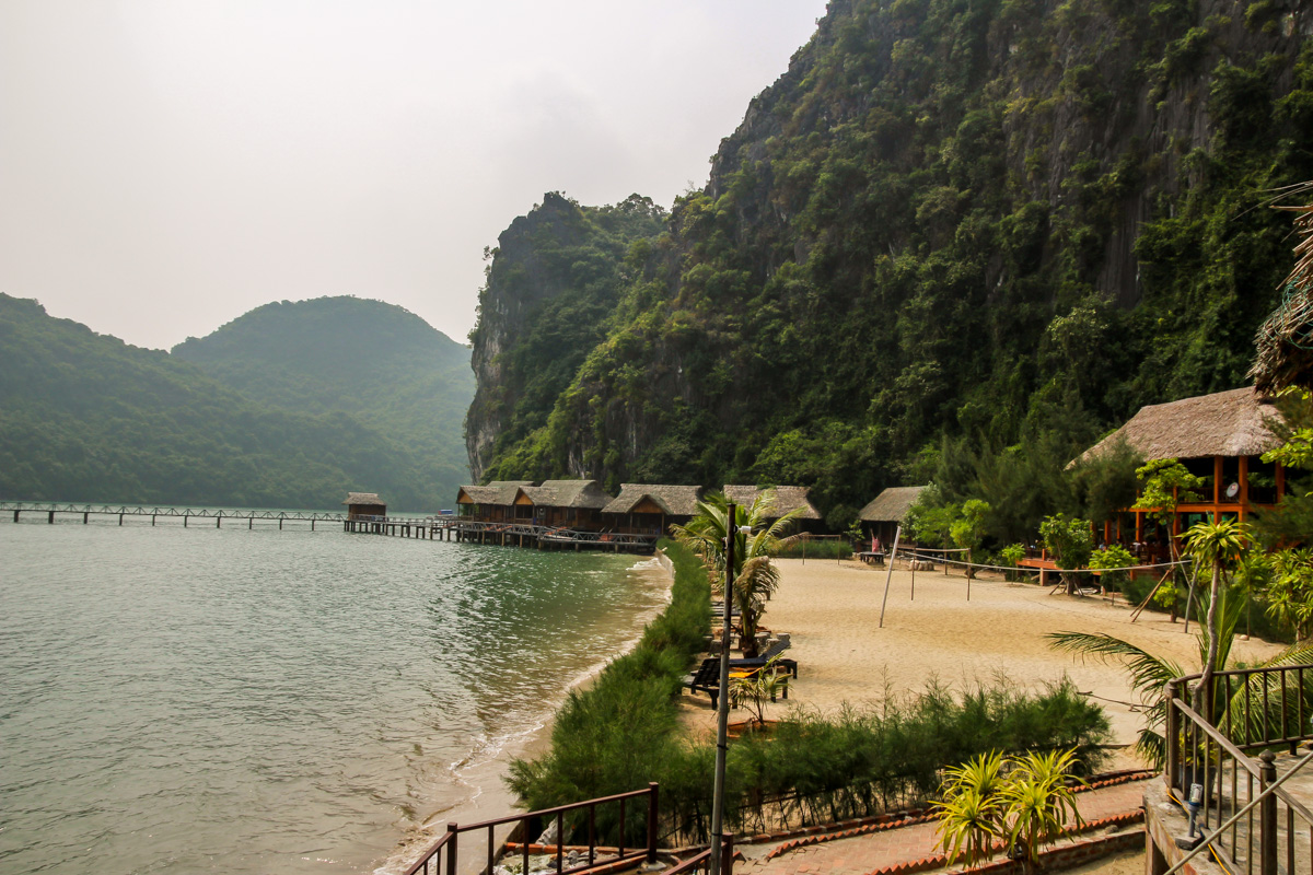 Bungalows en Nam Cat, Lan Ha Bay