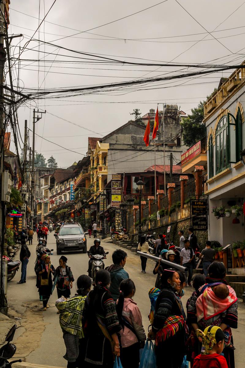 Calles de Sapa
