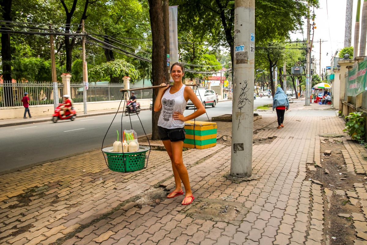 Trabajando duro, Saigon