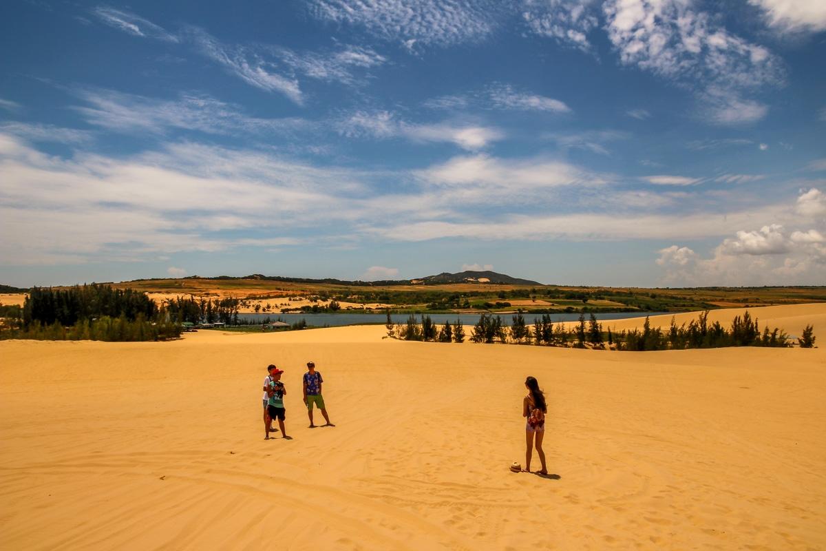 Visitando las dunas, Mui Ne