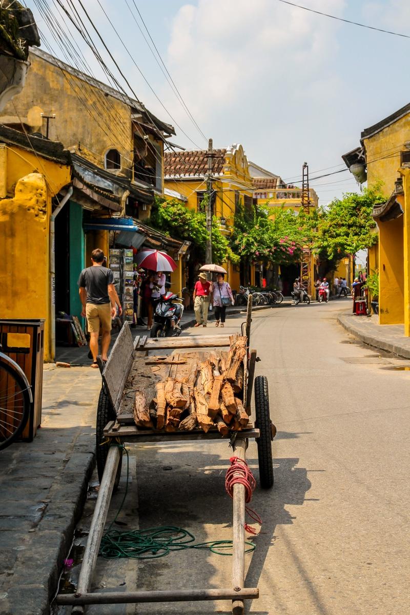 El carro de la madera, Hoi An