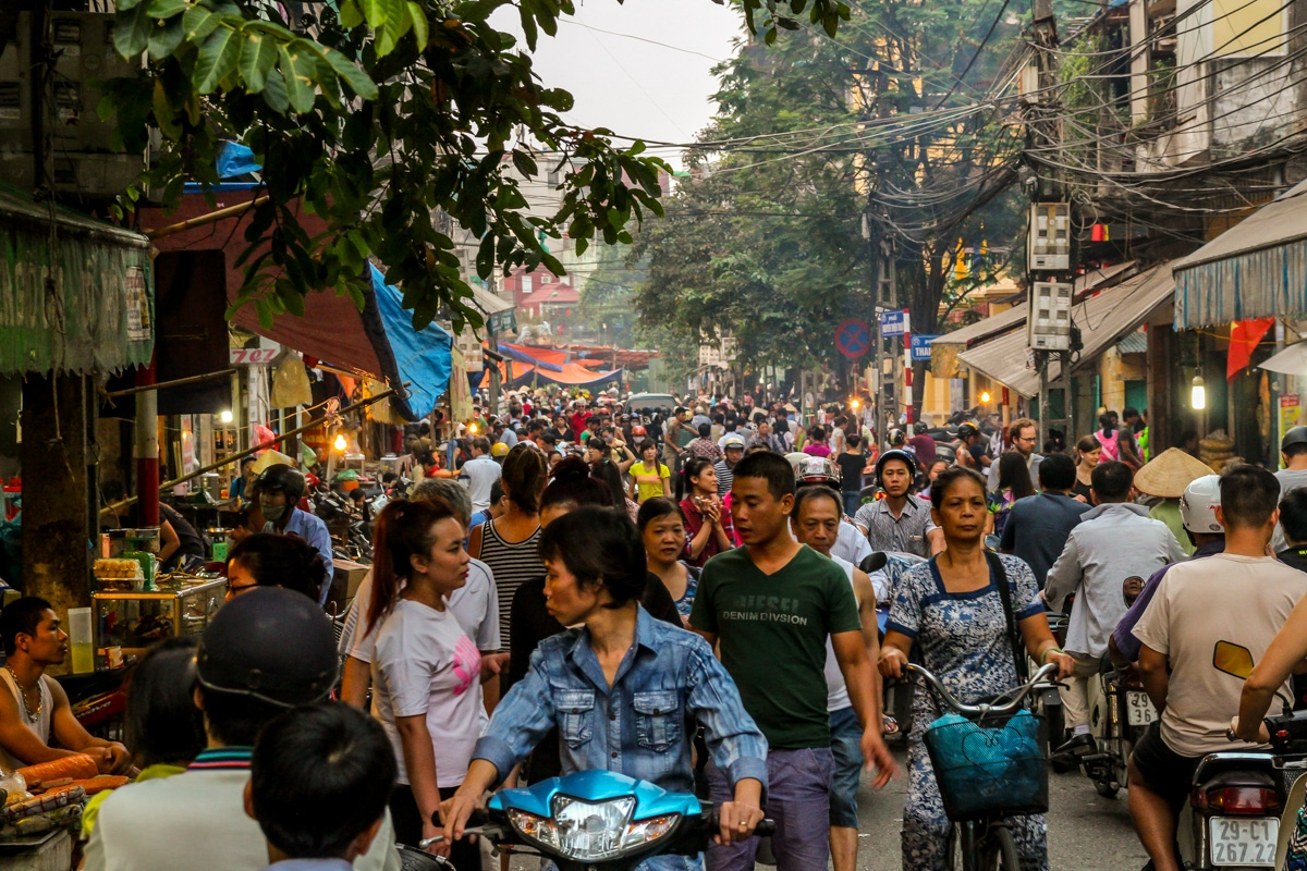 Multitud, Hanoi