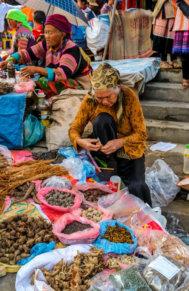 Domingo, día de mercado en Bac Ha