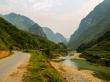 Vuelta a Ha Giang, sobre el río, Loop QL34 road