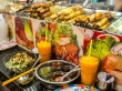 Comida en el mercado, Saigon