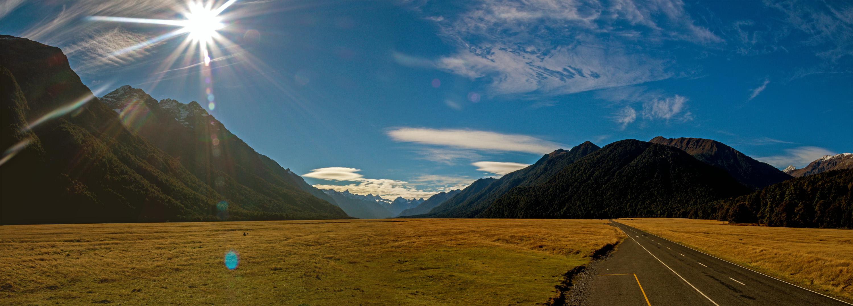 campervan por la isla sur de Nueva Zelanda